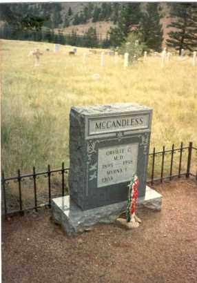MCCANDLESS, MYRNA - Clear Creek County, Colorado | MYRNA MCCANDLESS - Colorado Gravestone Photos