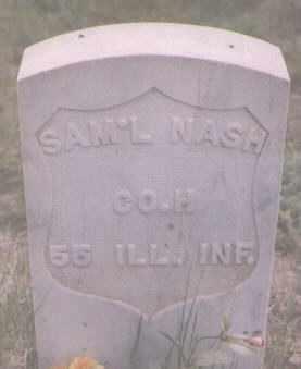 NASH, SAMUEL - Clear Creek County, Colorado | SAMUEL NASH - Colorado Gravestone Photos