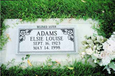 ADAMS, ELSIE LOUISE - Conejos County, Colorado | ELSIE LOUISE ADAMS - Colorado Gravestone Photos