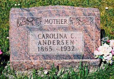 ANDERSEN, CAROLINA C. - Conejos County, Colorado | CAROLINA C. ANDERSEN - Colorado Gravestone Photos