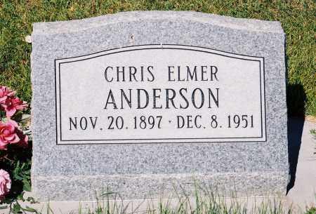 ANDERSON, CHRIS ELMER - Conejos County, Colorado | CHRIS ELMER ANDERSON - Colorado Gravestone Photos