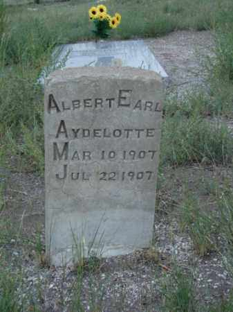 AYDELOTTE, ALBERT EARL - Conejos County, Colorado | ALBERT EARL AYDELOTTE - Colorado Gravestone Photos