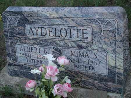 AYDELOTTE, ALBERT B. - Conejos County, Colorado   ALBERT B. AYDELOTTE - Colorado Gravestone Photos
