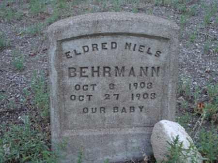 BEHRMANN, ELDRED NIELS - Conejos County, Colorado | ELDRED NIELS BEHRMANN - Colorado Gravestone Photos