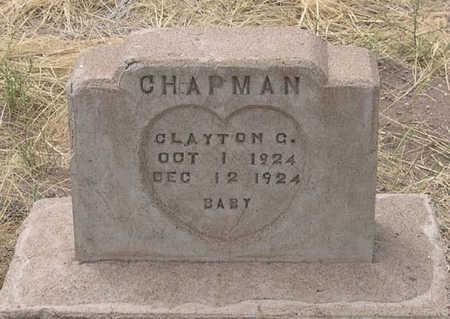 CHAPMAN, CLAYTON C. - Conejos County, Colorado   CLAYTON C. CHAPMAN - Colorado Gravestone Photos