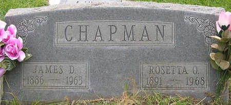 CHAPMAN, JAMES DAVID - Conejos County, Colorado | JAMES DAVID CHAPMAN - Colorado Gravestone Photos
