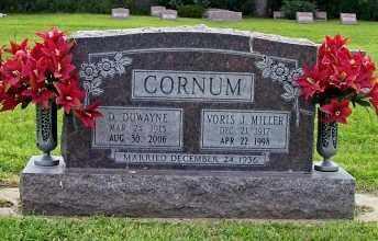 CORNUM, VORIS J - Conejos County, Colorado | VORIS J CORNUM - Colorado Gravestone Photos
