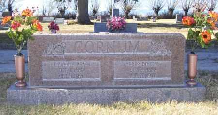 REED CORNUM, ELIZABETH PEARL - Conejos County, Colorado | ELIZABETH PEARL REED CORNUM - Colorado Gravestone Photos