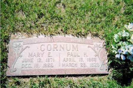 CORNUM, MARY EMILY - Conejos County, Colorado | MARY EMILY CORNUM - Colorado Gravestone Photos