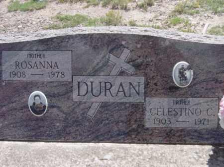 DURAN, CELESTINO C. - Conejos County, Colorado | CELESTINO C. DURAN - Colorado Gravestone Photos