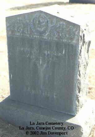 FORBES, WILLIAM - Conejos County, Colorado | WILLIAM FORBES - Colorado Gravestone Photos