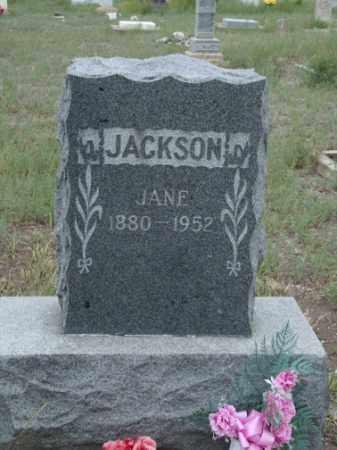 JACKSON, JANE - Conejos County, Colorado   JANE JACKSON - Colorado Gravestone Photos
