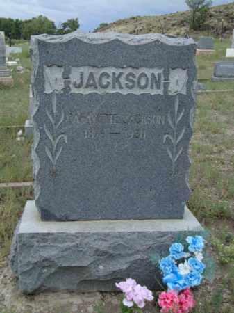 JACKSON, LAFAYETTE - Conejos County, Colorado   LAFAYETTE JACKSON - Colorado Gravestone Photos