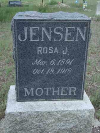 JENSEN, ROSA JANE - Conejos County, Colorado | ROSA JANE JENSEN - Colorado Gravestone Photos