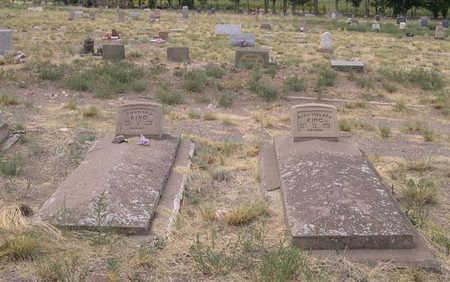 KING, PLOT - Conejos County, Colorado | PLOT KING - Colorado Gravestone Photos
