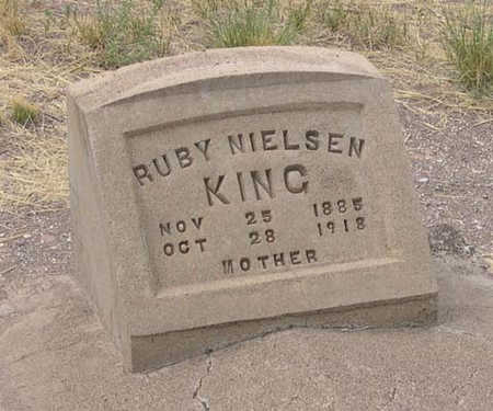 NIELSON KING, RUBY - Conejos County, Colorado | RUBY NIELSON KING - Colorado Gravestone Photos