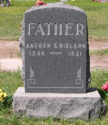 NIELSON, ANDREW SPENDRUP - Conejos County, Colorado   ANDREW SPENDRUP NIELSON - Colorado Gravestone Photos