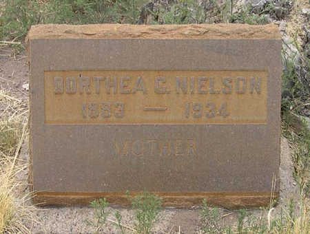 JENSEN NIELSON, DORTHEA C. - Conejos County, Colorado | DORTHEA C. JENSEN NIELSON - Colorado Gravestone Photos
