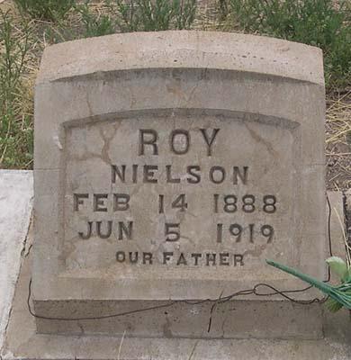 NIELSON, NELSE OLIVER - Conejos County, Colorado   NELSE OLIVER NIELSON - Colorado Gravestone Photos