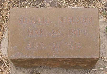 NIELSON, VERDELL - Conejos County, Colorado | VERDELL NIELSON - Colorado Gravestone Photos