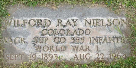 NIELSON, WILFORD RAYMOND - Conejos County, Colorado | WILFORD RAYMOND NIELSON - Colorado Gravestone Photos