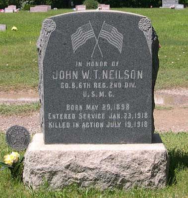 NIELSON, WHITTAKER JOHN TAYLOR - Conejos County, Colorado | WHITTAKER JOHN TAYLOR NIELSON - Colorado Gravestone Photos