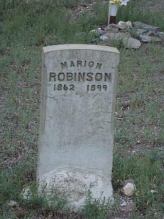 ROBINSON, MARION - Conejos County, Colorado   MARION ROBINSON - Colorado Gravestone Photos