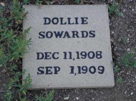 SOWARDS, DOLLIE - Conejos County, Colorado | DOLLIE SOWARDS - Colorado Gravestone Photos