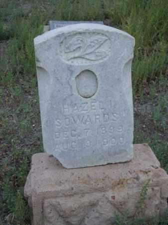 SOWARDS, HAZEL IVY - Conejos County, Colorado | HAZEL IVY SOWARDS - Colorado Gravestone Photos