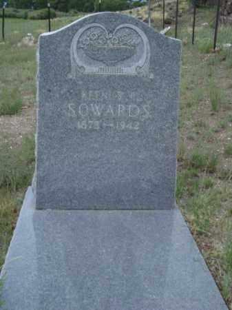 SOWARDS, KEENUS R - Conejos County, Colorado   KEENUS R SOWARDS - Colorado Gravestone Photos