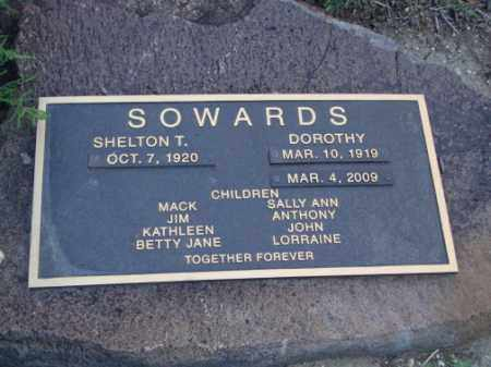 SOWARDS, DOROTHY - Conejos County, Colorado | DOROTHY SOWARDS - Colorado Gravestone Photos