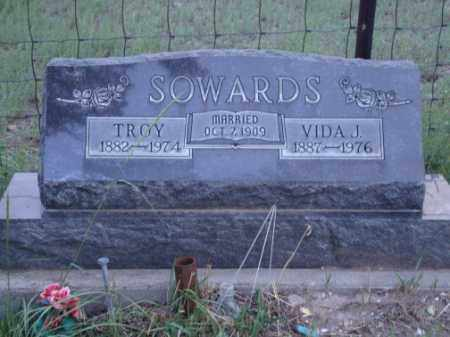 JACKSON SOWARDS, VIDA - Conejos County, Colorado | VIDA JACKSON SOWARDS - Colorado Gravestone Photos