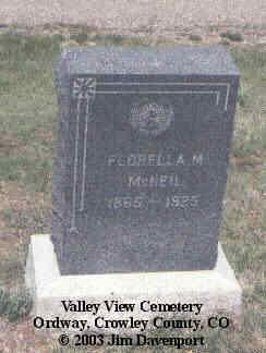 MCNEIL, WILLIAM - Crowley County, Colorado | WILLIAM MCNEIL - Colorado Gravestone Photos