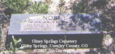 NOBLE, RALPH L. - Crowley County, Colorado | RALPH L. NOBLE - Colorado Gravestone Photos