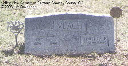 VLACH, PROKOP L. - Crowley County, Colorado | PROKOP L. VLACH - Colorado Gravestone Photos