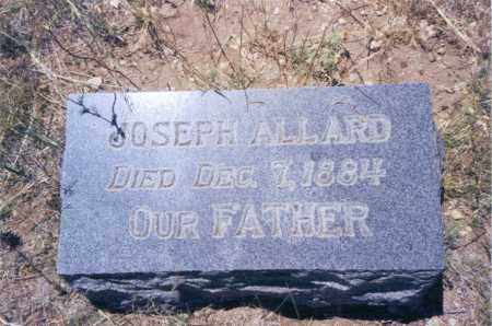 ALLARD, JOSEPH - Custer County, Colorado | JOSEPH ALLARD - Colorado Gravestone Photos
