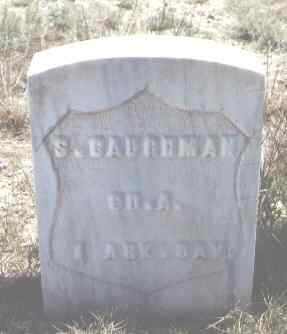 CAUGHMAN, S. - Custer County, Colorado | S. CAUGHMAN - Colorado Gravestone Photos