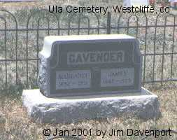 CAVENDER, MARGARET - Custer County, Colorado | MARGARET CAVENDER - Colorado Gravestone Photos