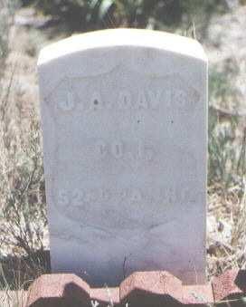 DAVIS, J. A. - Custer County, Colorado | J. A. DAVIS - Colorado Gravestone Photos