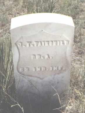 FAIRCHILD, J. T. - Custer County, Colorado | J. T. FAIRCHILD - Colorado Gravestone Photos