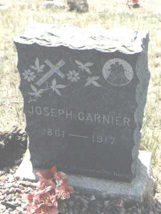 GARNIER, JOSEPH - Custer County, Colorado | JOSEPH GARNIER - Colorado Gravestone Photos