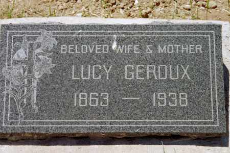 DEGREE GEROUX, LUCY - Custer County, Colorado | LUCY DEGREE GEROUX - Colorado Gravestone Photos