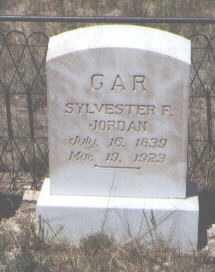 JORDAN, SYLVESTER F. - Custer County, Colorado | SYLVESTER F. JORDAN - Colorado Gravestone Photos