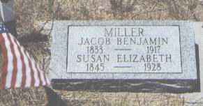 MILLER, JACOB BENJAMIN - Custer County, Colorado   JACOB BENJAMIN MILLER - Colorado Gravestone Photos
