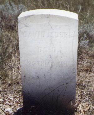 MOORE, DAVID - Custer County, Colorado   DAVID MOORE - Colorado Gravestone Photos