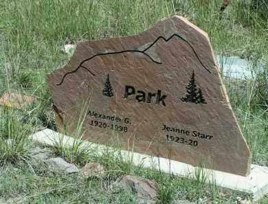 STARR PARK, JEANNE - Custer County, Colorado | JEANNE STARR PARK - Colorado Gravestone Photos