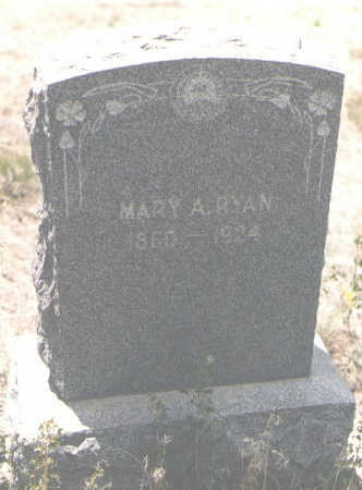 RYAN, MARY A. - Custer County, Colorado | MARY A. RYAN - Colorado Gravestone Photos
