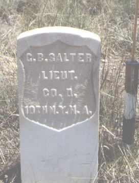 SALTER, G. B. - Custer County, Colorado   G. B. SALTER - Colorado Gravestone Photos