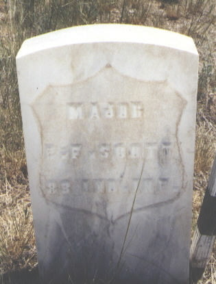 SCOTT, E. F. - Custer County, Colorado | E. F. SCOTT - Colorado Gravestone Photos