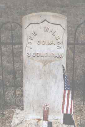 WILSON, JOHN - Custer County, Colorado | JOHN WILSON - Colorado Gravestone Photos